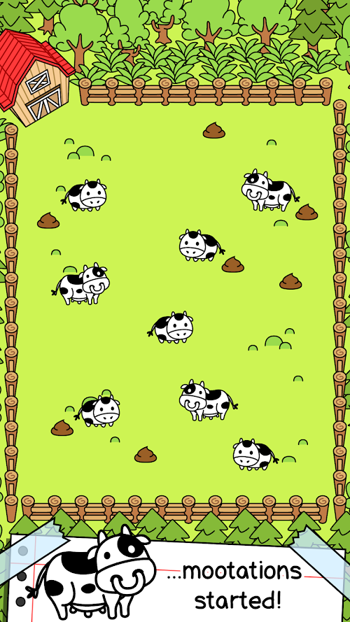 Screenshot 2 Cow Evolution - Crazy Cow Making Clicker Game 1.10.6 APK MOD