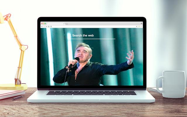 Morrissey New Tab Music Theme
