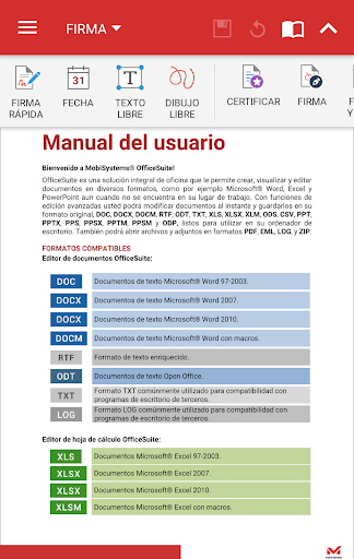 OfficeSuite Pro + PDF para Android