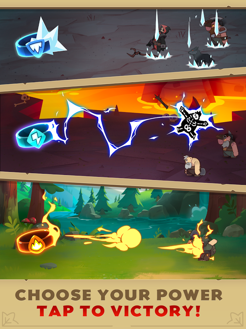Almost a Hero - RPG Clicker Game with Upgrades Screenshot 8