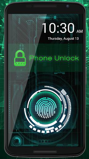 cerradura de la huella Prank screenshot 2