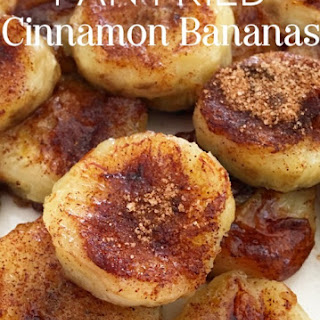 Pan Fried Cinnamon Bananas Recipe