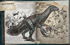 テリジノサウルスの調査書