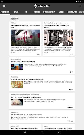 heise online - News 3.4.2 screenshots 9