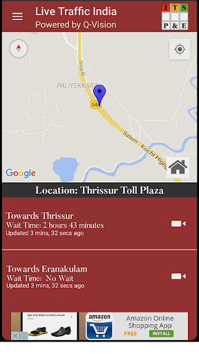 Live Traffic India app (apk) free download for Android/PC/Windows screenshot