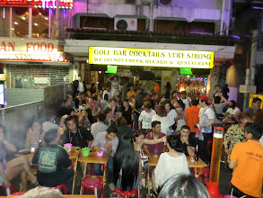 Photo: Khao San Road at night