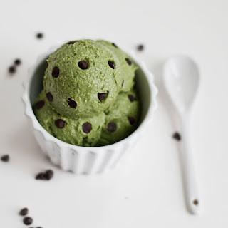 5 Ingredient Homemade Creamy Mint Chocolate Chip Avocado Ice Cream