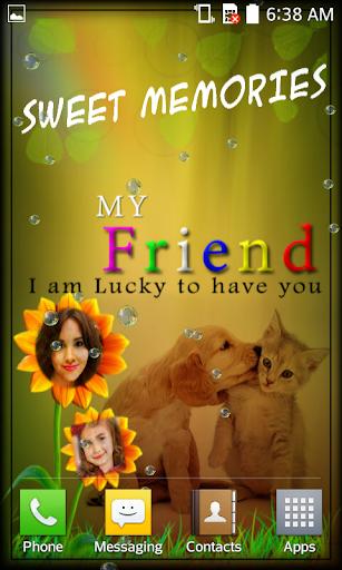 Friendship Card Photo Frames