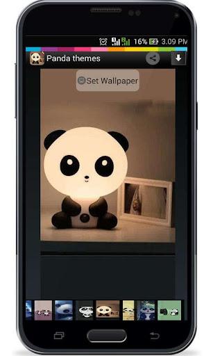 Tema Panda Android