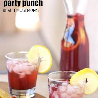 Sparkling Fruits Party Punch.