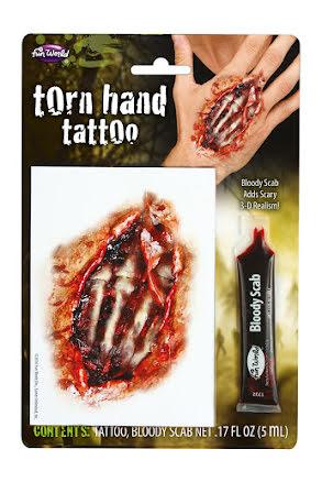 Tatuering, Skeletthand