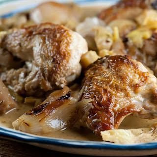 Bistro Artichoke Chicken.