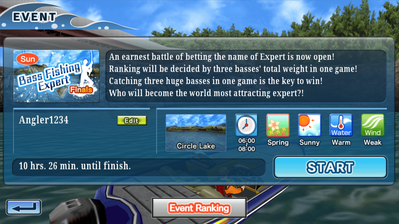 Bass Fishing 3D Free - screenshot