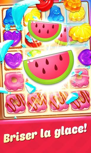 Candy Smash - 2020 Match 3 Puzzle jeu gratuit  captures d'écran 2