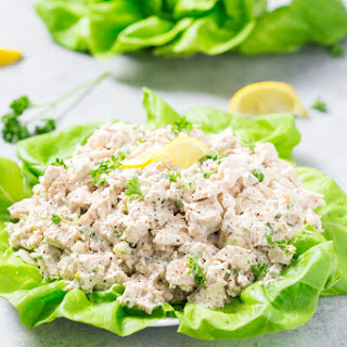 Easy Low Carb Chicken Salad.