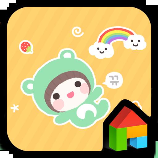 bebe roll Dodol launcher theme 個人化 LOGO-玩APPs
