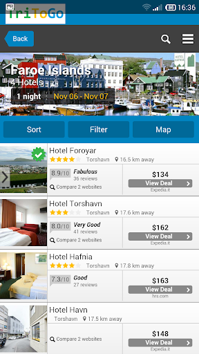 Hotels prices Faroe Islands