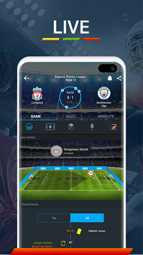 365Scores - Live Scores & Soccer News 10.8.2 Screenshots 2