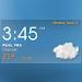 Digital clock weather theme 1 APK