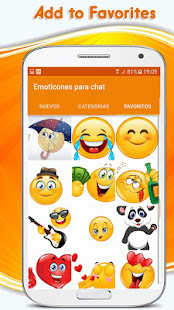 App Emoticons, emoji stickers for whatsapp APK for Windows Phone