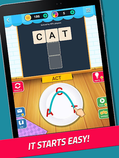 Crossword Jam: A word search and word guess game  gameplay   by HackJr.Pw 8