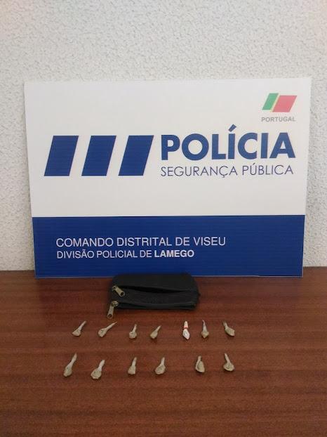 Detenção por posse de Heroína em Lamego