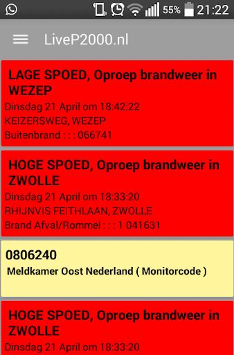 LiveP2000.nl - Free Meldingen v1.3.1c Screenshots 7