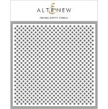 Altenew Stencil 6X6 - Feeling Dotty