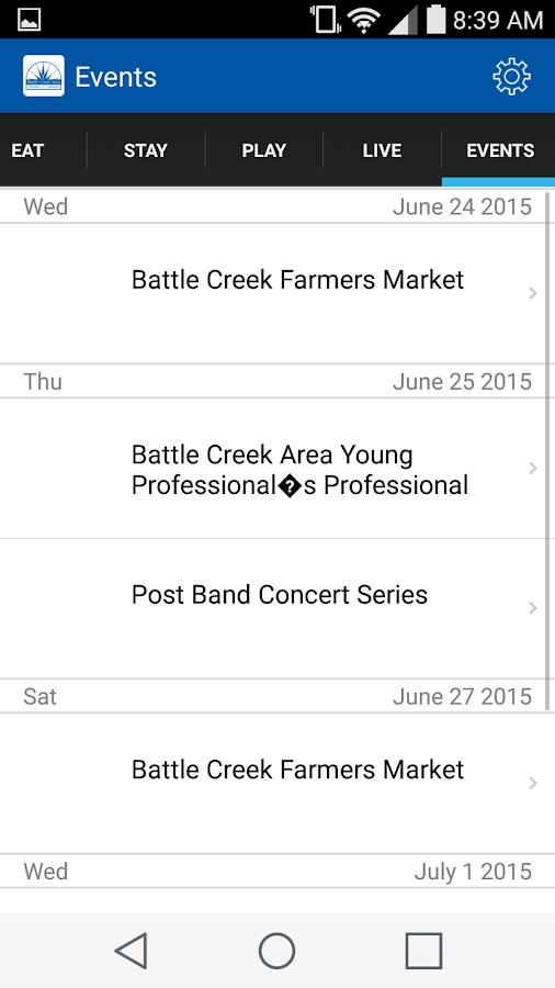 Welcome to Battle Creek- screenshot