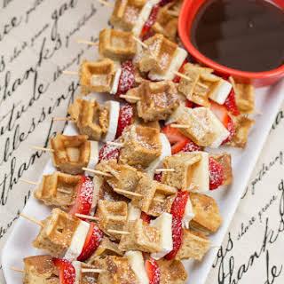 Brie Waffle Bites.