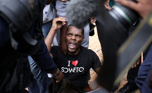 Student leader Mcebo Dlamini. Picture: REUTERS/SIPHIWE SIBEKO