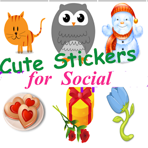 Cute Stickers for Social for PC and MAC