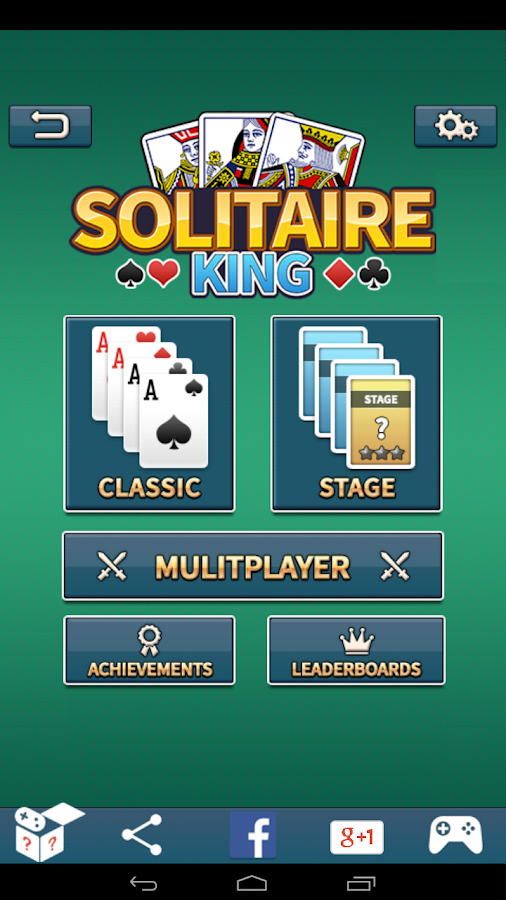 solitaire king android apps on google play