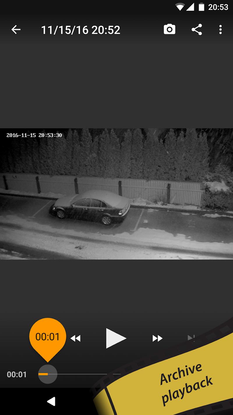 tinyCam PRO - Swiss knife to monitor IP cam Screenshot 7