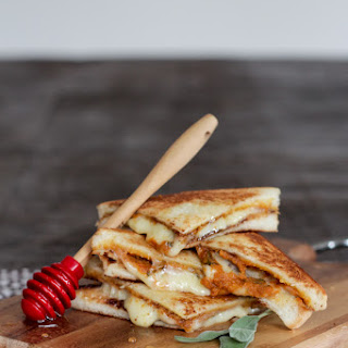Pumpkin and Gruyere Grilled Cheese Sandwiches