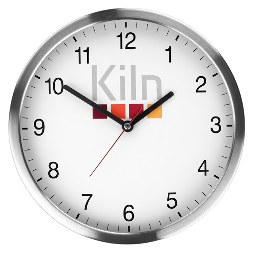 Stainless Steel Metal Wall Clock