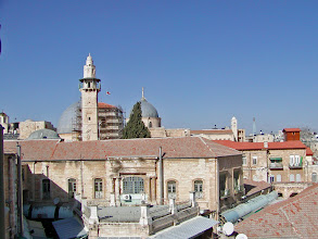 Photo: Looking back towards the Church of the Holy Sepulchre