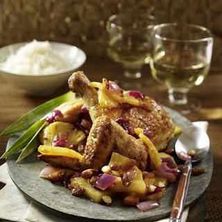 Pineapple-Braised Chicken