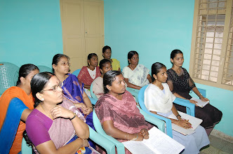 Photo: A section of our women participants attending the Life skills education at GOODWILL