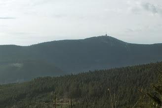 Photo: (1.11. 2014) Pohled od další, bohužel nenalezené kešky, nedaleko vrcholu Travného