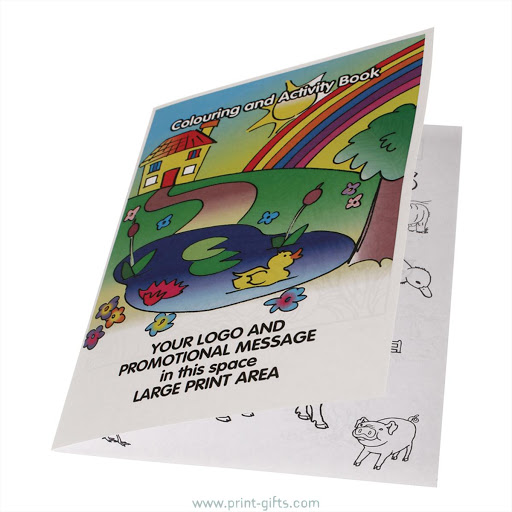 Promotional A5 Colouring Books