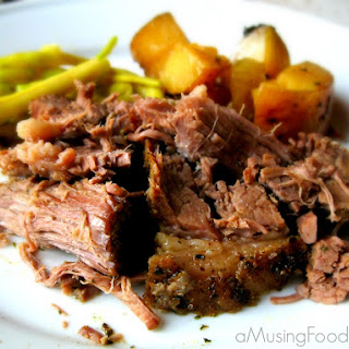Slow Cooker Beef and Potatoes.