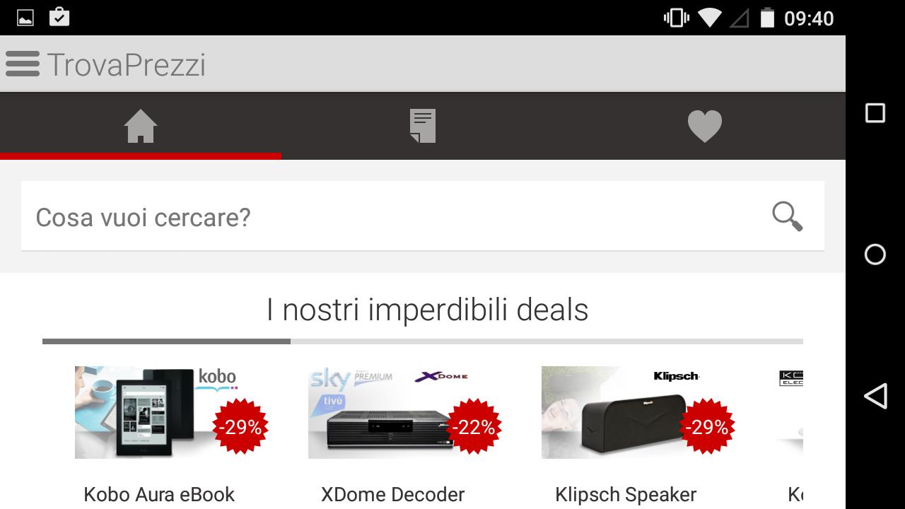 TrovaPrezzi prezzi e shopping- screenshot