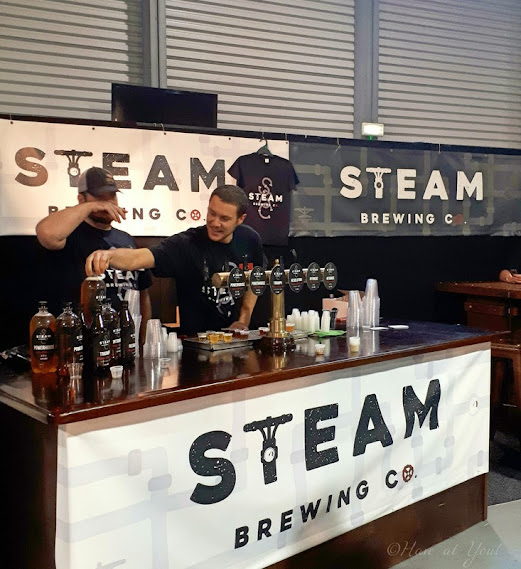 Steam Brewing Co. Booth