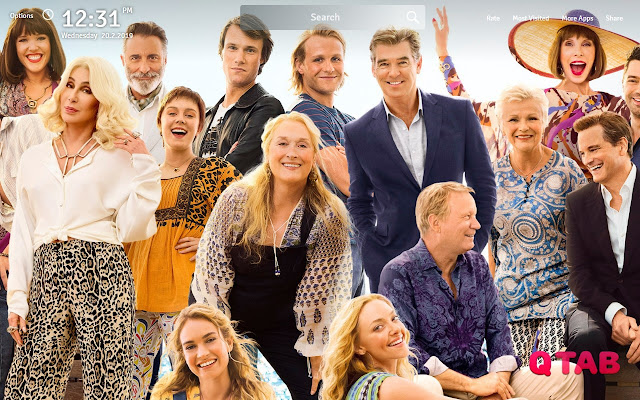 Mamma Mia Here We Go Again Wallpapers New Tab