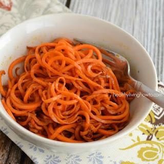 Sweet Potato Spaghetti Recipes.