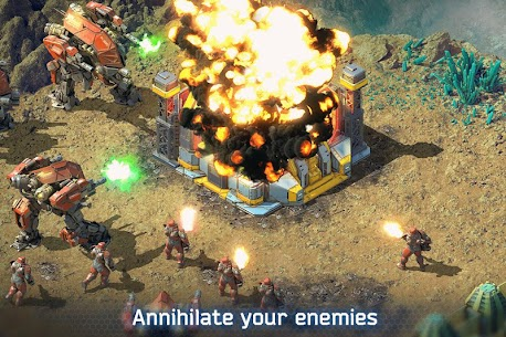 Battle for the Galaxy MOD 3.3.10 (Unlimited Money) 3