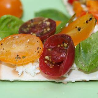 Heirloom Cherry Tomato & Basil Topping