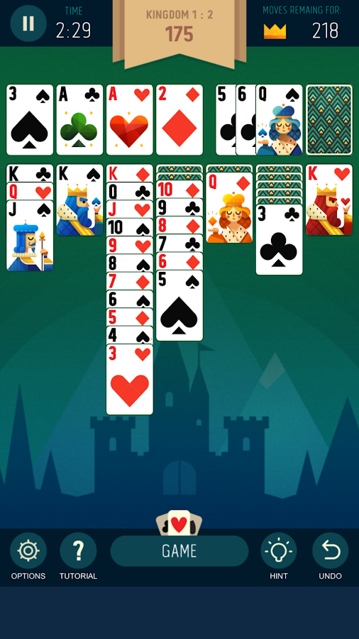 Solitaire Kingdom by ARJ- screenshot