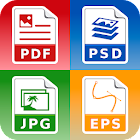 Foto und Bild Konverter (jpg pdf eps png bmp gif icon